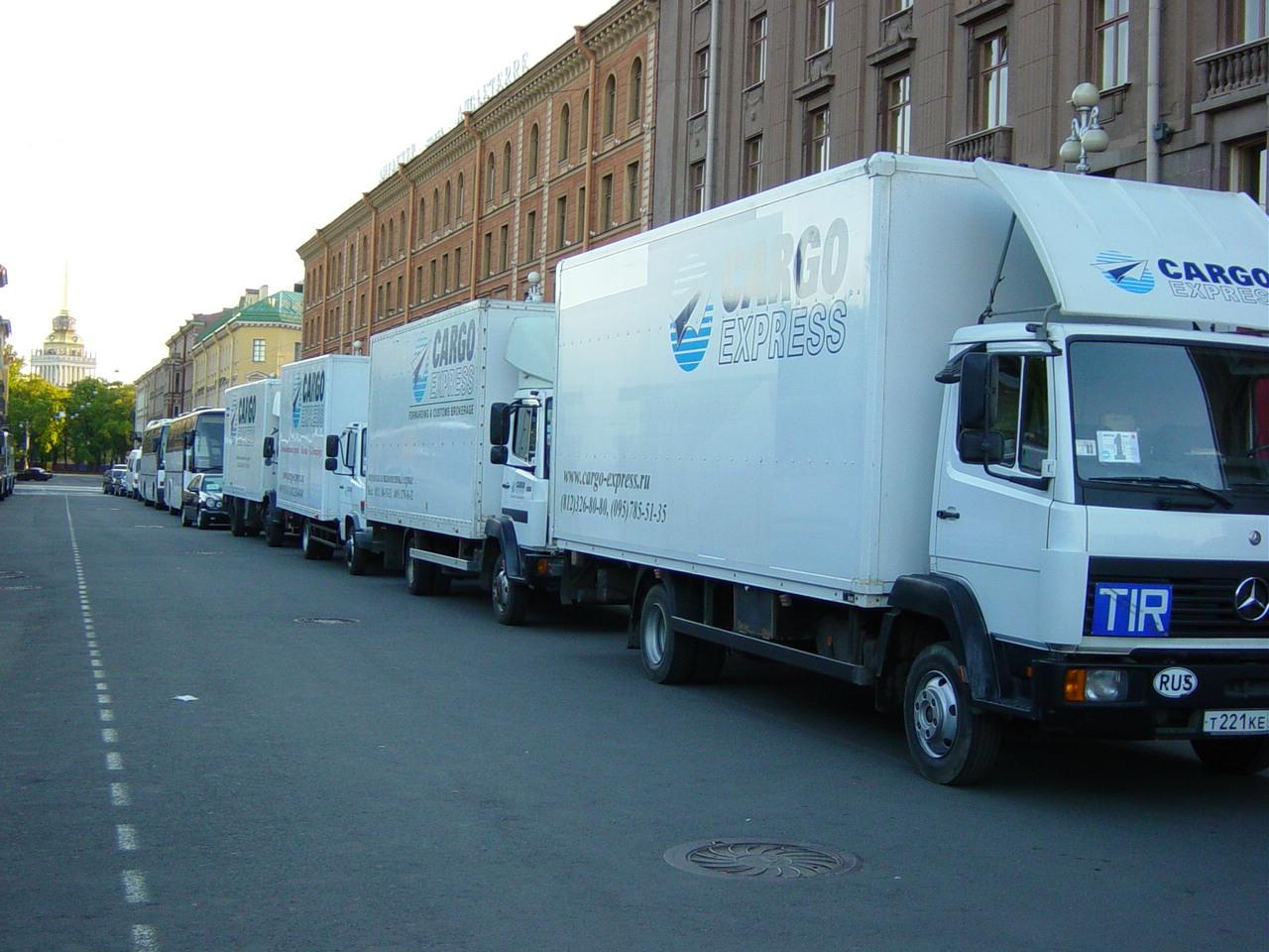 7d8d59840f6c5 Грузоперевозки Москва - Санкт-Петербург от 400 руб